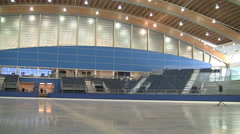 Olympic ice rink in Vancouver. Stock Footage