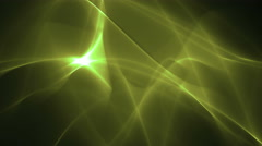Green Soft Waves Stock Footage