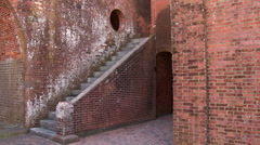 Fort Pulaski National Park Stock Footage