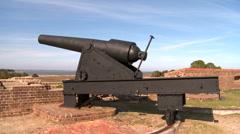 Fort Pulaski National Park - stock footage