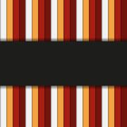 Infographic or background striped template in warm colors Stock Illustration