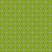 Seamless green pattern with bright green and white abstract elements - stock illustration