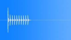 Ping Pong Ball Knock Alert 2 Sound Effect