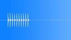 Ping Pong Ball Knock Alert - sound effect