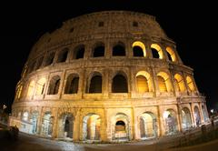 Colosseum of Rome - stock photo
