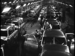 Early Car Manufacturing Plant (Archive Footage) Stock Footage