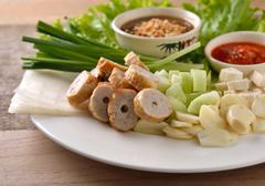 Vietnamese culture food - stock photo