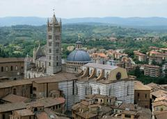 Gothic Cathedral in Siena, Italy Stock Photos
