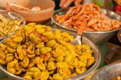 Fruit pickled food preservation - stock photo