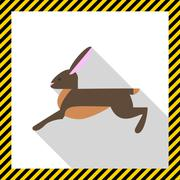 Stock Illustration of Hare icon