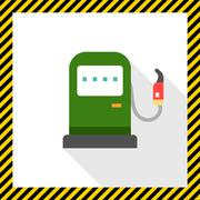 Petrol station Stock Illustration