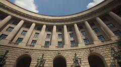 US Headquater Protection Agency Washington - stock footage