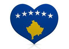 Kosovo - stock illustration