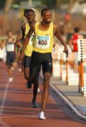 Djiboutian athlete Ayanleh Souleiman - stock photo