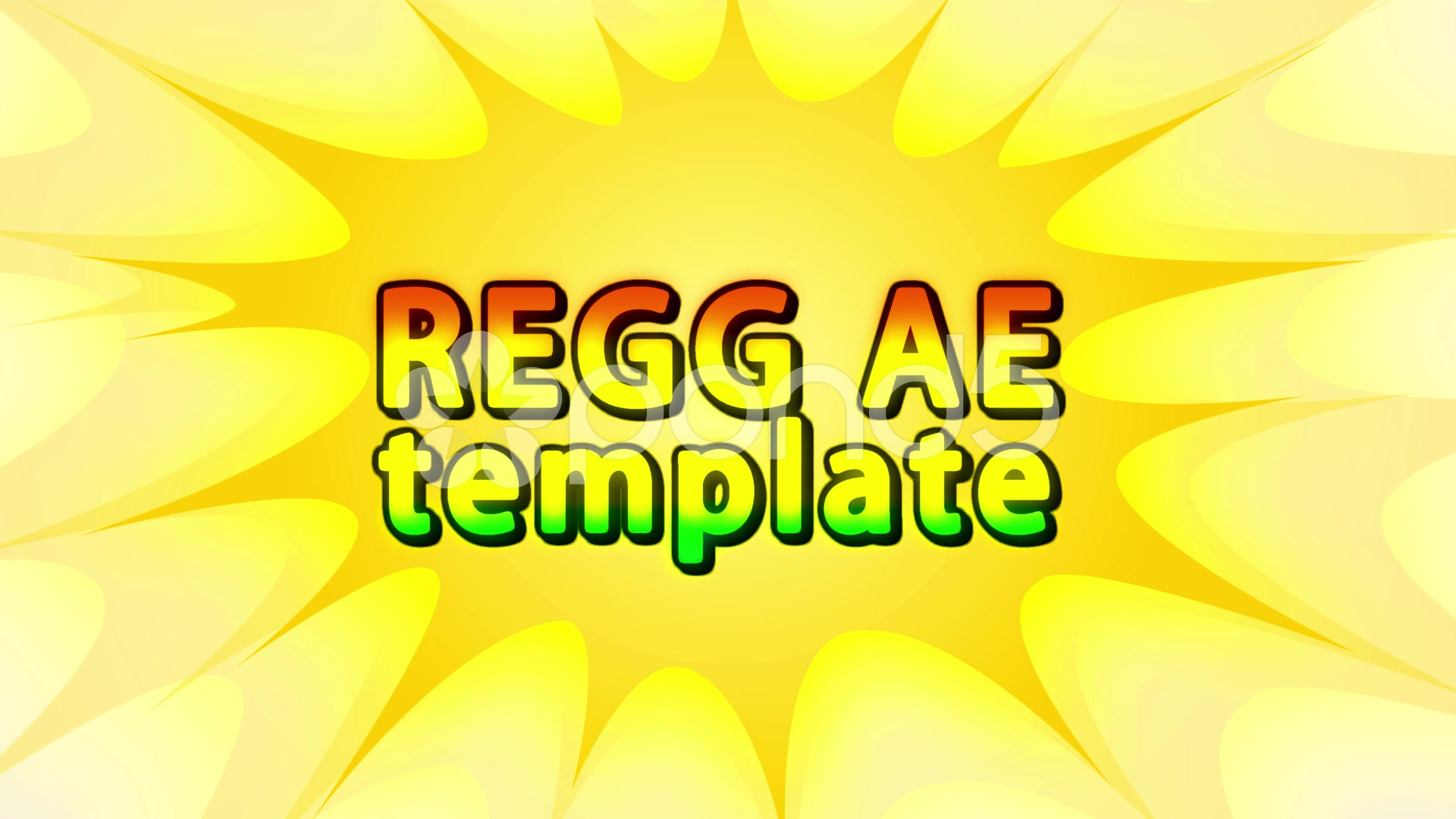 After Effects Project - Pond5 Reggae dub 52345567