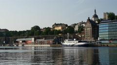 Stadsgarden stockholm in Sweden Stock Footage