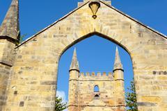 Port Arthur Tasmania Convict Settlement Museum - stock photo