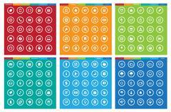 Business ,Office Tools , Weatheramd entertainment icon set Stock Illustration