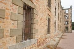 Port Arthur Convict Settlement Museum Tasmania - stock photo