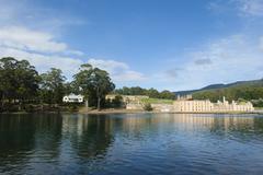 Port Arthur Convict Settlement Museum Australia - stock photo