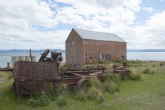 Darlington Maria Island Tasmania Convict Ruin Stock Photos