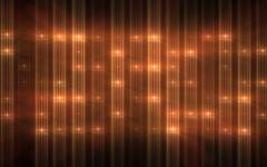 Orange Wall of Lights Concert Stage Sports Stadium Background Stock Illustration