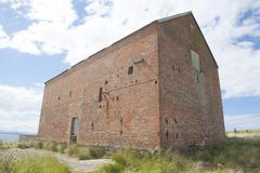 Darlington Maria Island Convict House Ruin - stock photo