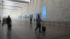 Ben Gurion International Airport Stock Footage