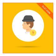 Stock Illustration of Inspiration icon