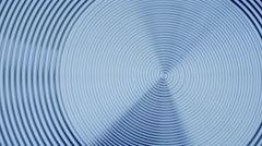 Blurred metal spiral. Stock Footage