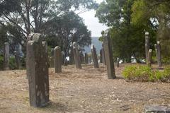 Isle of Deads Port Arthur Tasmania Stock Photos