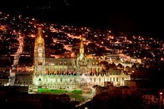 The Basilica church, Quito, Ecuador - stock photo