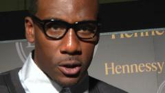 Amar'e Stoudemire red carpet Stock Footage