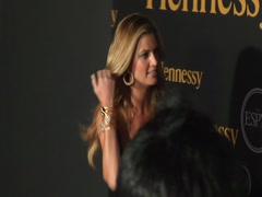 Erin Andrews Red Carpet Stock Footage
