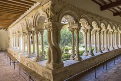 Cathedral Cloister in Aix-en-Provence - stock photo