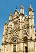 Orvieto Cathedral, Italy - stock photo