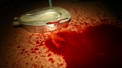 Closeup of Blood Stock Footage