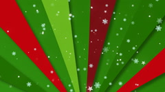 Christmas Retro Bg 1 Loopable Background Stock Footage