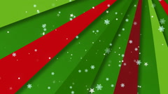 Christmas Retro Bg 3 Loopable Background - stock footage