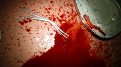 Closeup of Blood Stock Footage
