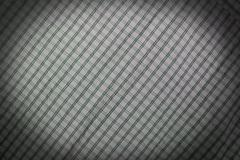 Fabric textile background with square pattern Stock Photos