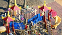 The childs playground Stock Footage