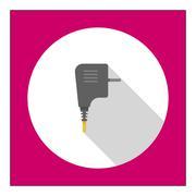 Stock Illustration of Electric plug icon
