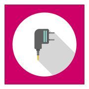 Electric plug Stock Illustration