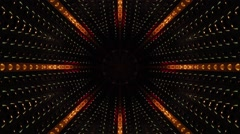 Abstract Kaleidoscopic Looping Video Background - stock footage