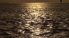 Shimmering water Stock Footage