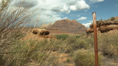 Grafton Ghost Town Desert Landscape HD - stock footage