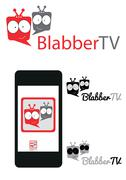 Chatting tv or television logo for website or your video channel Piirros