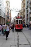 Stock Photo of Taksim Istiklal Street