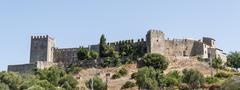Castellar de la Frontera Castle, Andalusia, Spain - stock photo